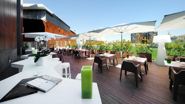 Vista della terrazza - Cecenero h2c Hotel, Assago