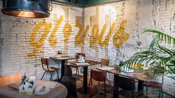 Vue de la salle - Otomat Heavenly Pizza, Brussel