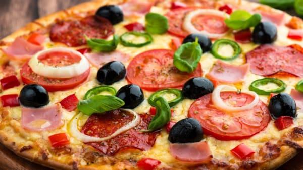 Suggestion de pizza - La Paniolade, Toulouse
