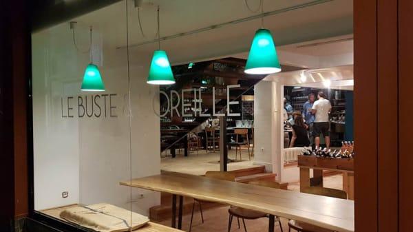 Vue de la salle - Le Buste et l'Oreille, Arles