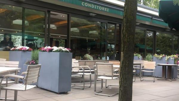 Terrasse - Caféhaus Siesmayer, Frankfurt am Main