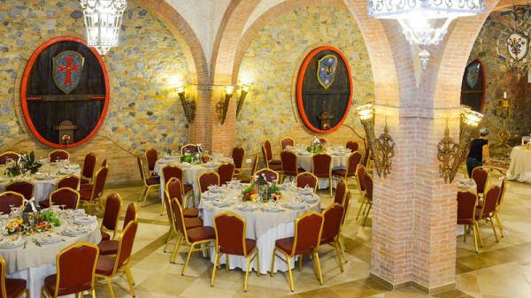 Vista sala - Braceria dei Templari, Fauglia