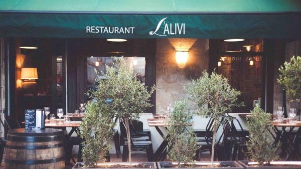terrasse - L'Alivi, Paris