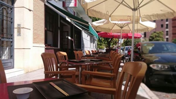 Vista terraza - Tuna Restaurante, Córdoba