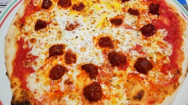 Suggestion pizza - Le Vesuvio, Caen