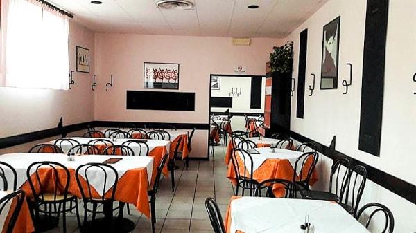 Veduta dell interno - Pizzeria Triangolo