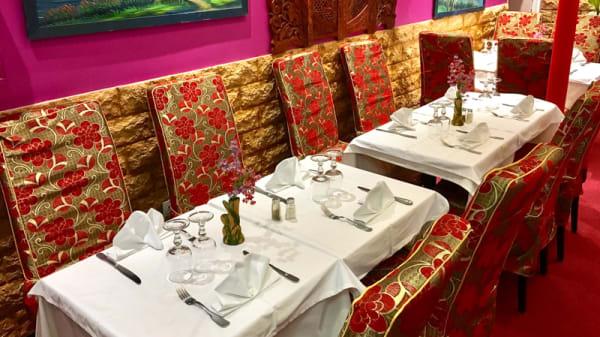 Salle du restaurant - Rajmahal, Paris