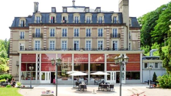 Terrasse / Façade du restaurant - L'Orangerie, Plombières-les-Bains