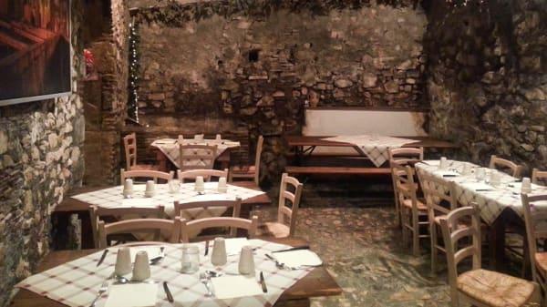 Sala - La Loggetta del Tartufo, Segni