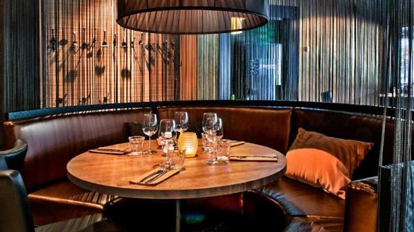 Detail van de tafel - Bar Bistro Joseph, Hoofddorp