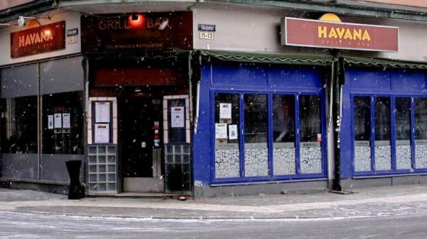 The entrance - Havana, Örebro