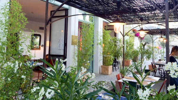 Terrasse - L'Atelier, Marsanne