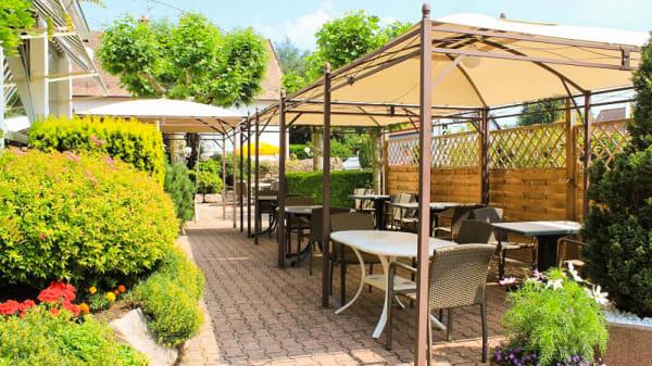 Terrasse - Hostellerie Belle-Vue, Wangenbourg-Engenthal