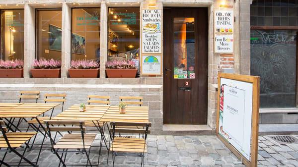 Vue de la terrasse - The Sister Brussels Café, Bruxelles