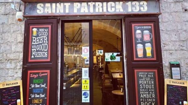 Ingresso - Saint Patrick 133 Beershop, Barletta