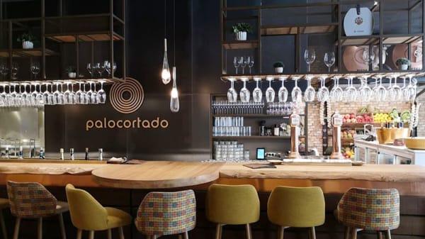 Vista sala - La barra de palocortado, Málaga