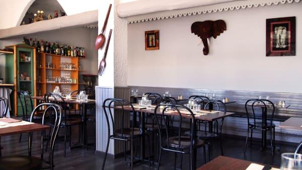 déco éléphant - A la Bonne Fourchette, Sète