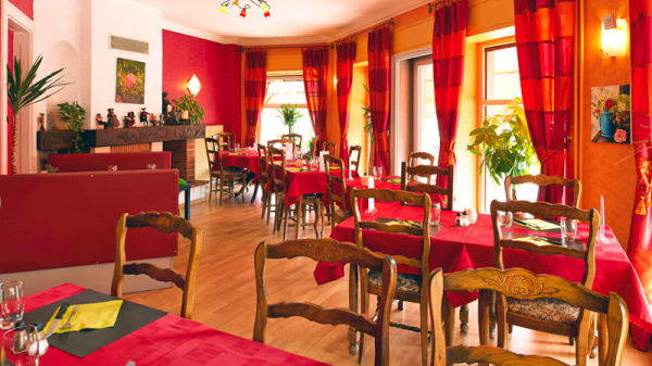 Vue de la salle - Chez Felix, Ostheim