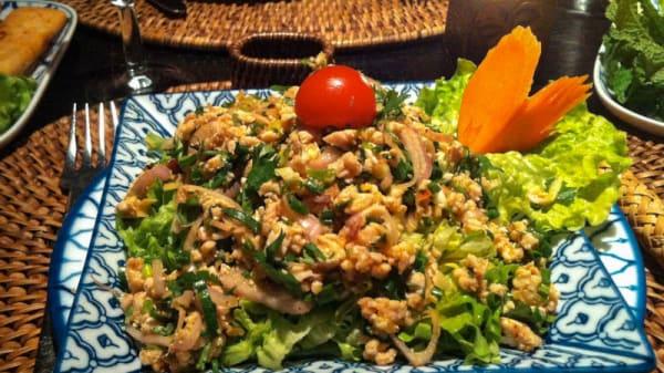 suggestion du chef - Mangue Rouge, Paris