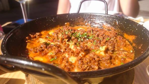 Sugerencia del chef - La Bohemia, Huelva
