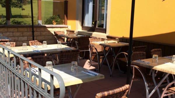Terrasse - Restaurant Les Cascades, Stosswihr
