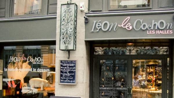 Entrée - Léon Le Cochon, Rennes
