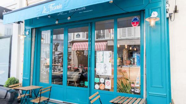 Entrée - Le Fusain, Paris