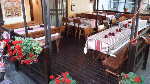 entrata-terrazza - La Casina Del Buongusto, Grottaferrata