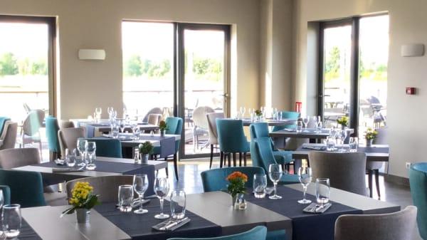 Vue de la salle - La Brasserie du Golf - Hôtel Relais de Margaux, Margaux