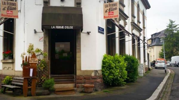 entrée - La Ferme d'Elise, Strasbourg