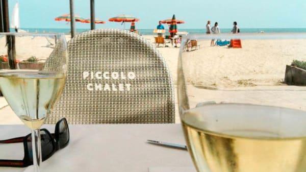 Dettaglio tavolo - Piccolo Chalet, Alba Adriatica