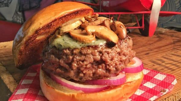 Prato - Burger ID, São Paulo