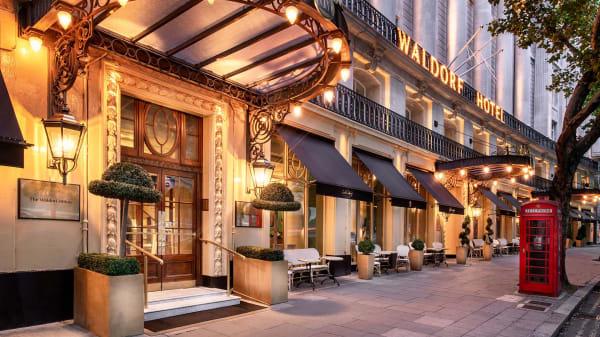 Perrier-Jouët Terrace at The Waldorf Hilton, London