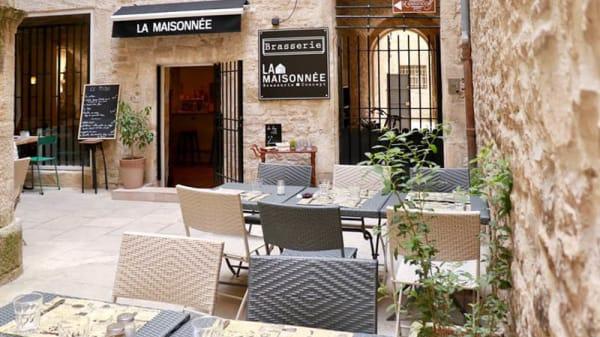 Terrasse - La Maisonnée, Nîmes