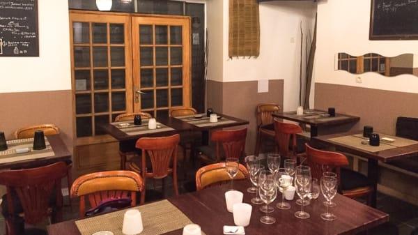 Salle du restaurant - Sushi Street Cafe, Marseille