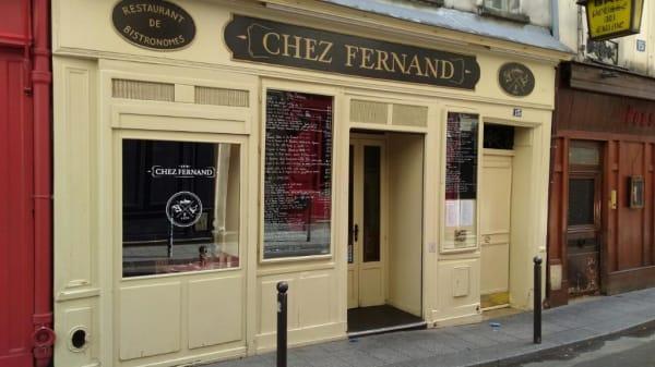 CHEZ FERNAND, Paris