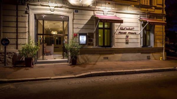 entree du restaurant - LE GAMBETTA, Saumur