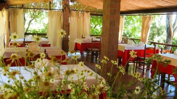 Vista sala - Il Castagno da Nichi, Sassetta