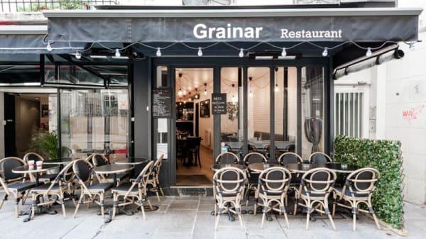 Entrée - Grainar, Paris