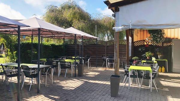 Vue de la terrasse - Santy's Bar, Cudrefin