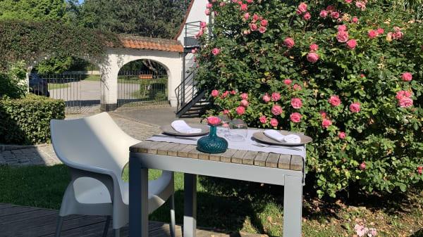 Terrasse - La Ferme Blanche, Lompret