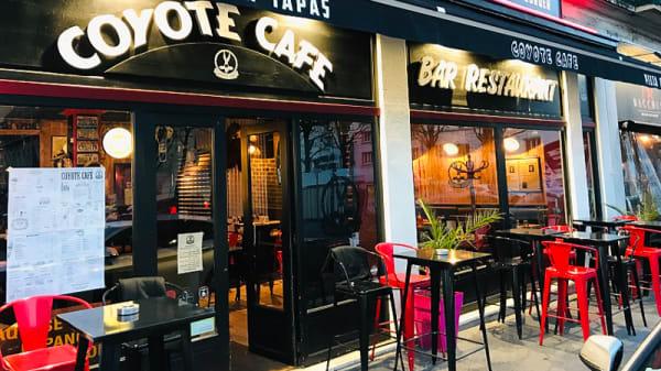 Devanture - Coyote Café, Rouen