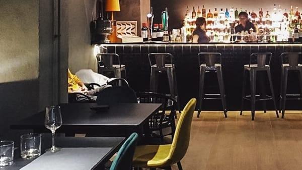 Sala del restaurante - Monte Rosa Champagne Club, Barcelona