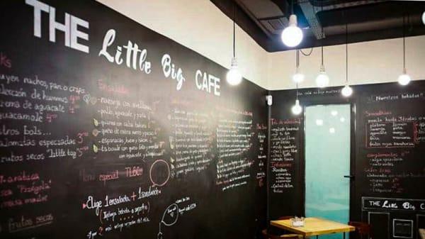 Vista de sala - The Little Big Café, Madrid