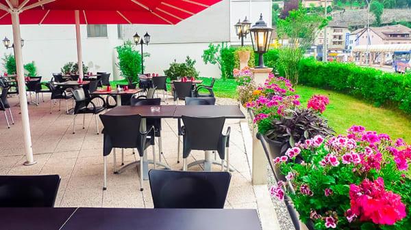 Terrasse et jardin - Restaurant AOMC, Monthey