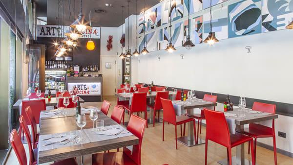 Vista sala - Arte e Cucina Bistrot, Milan