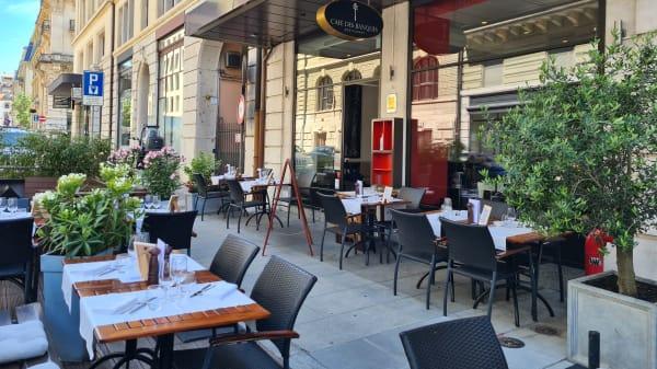 Terrasse - Café des Banques, Genève