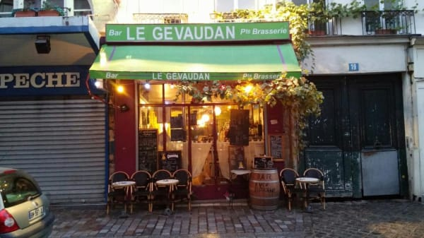 terrasse - Le Gevaudan Aligre, Paris