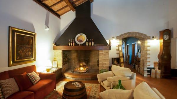 Veduta dell interno - Osteria Di Vin Porcello, Bettona