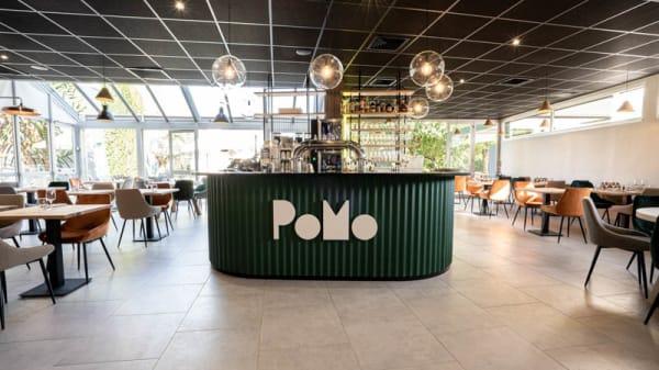 Vue de la salle - PoMo Hôtel & Restaurant, Échirolles